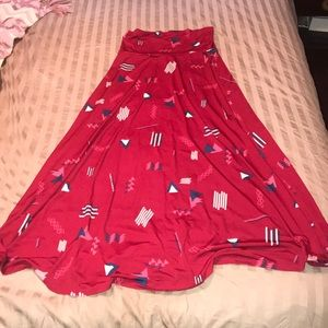 LulaRoe like new! Maxi skirt